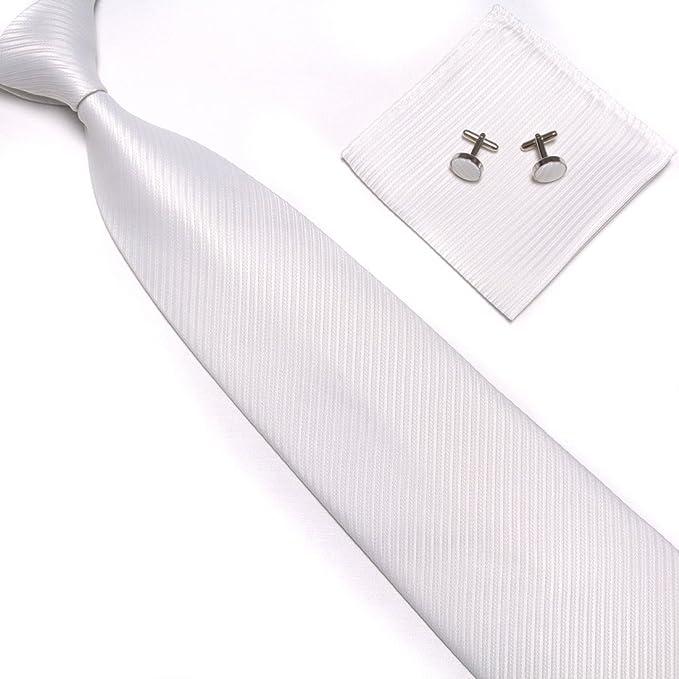 Joylive Fashion Classic JACQUARD WOVEN Tie Mens Silk Suits Ties Necktie Hanky Cufflinks