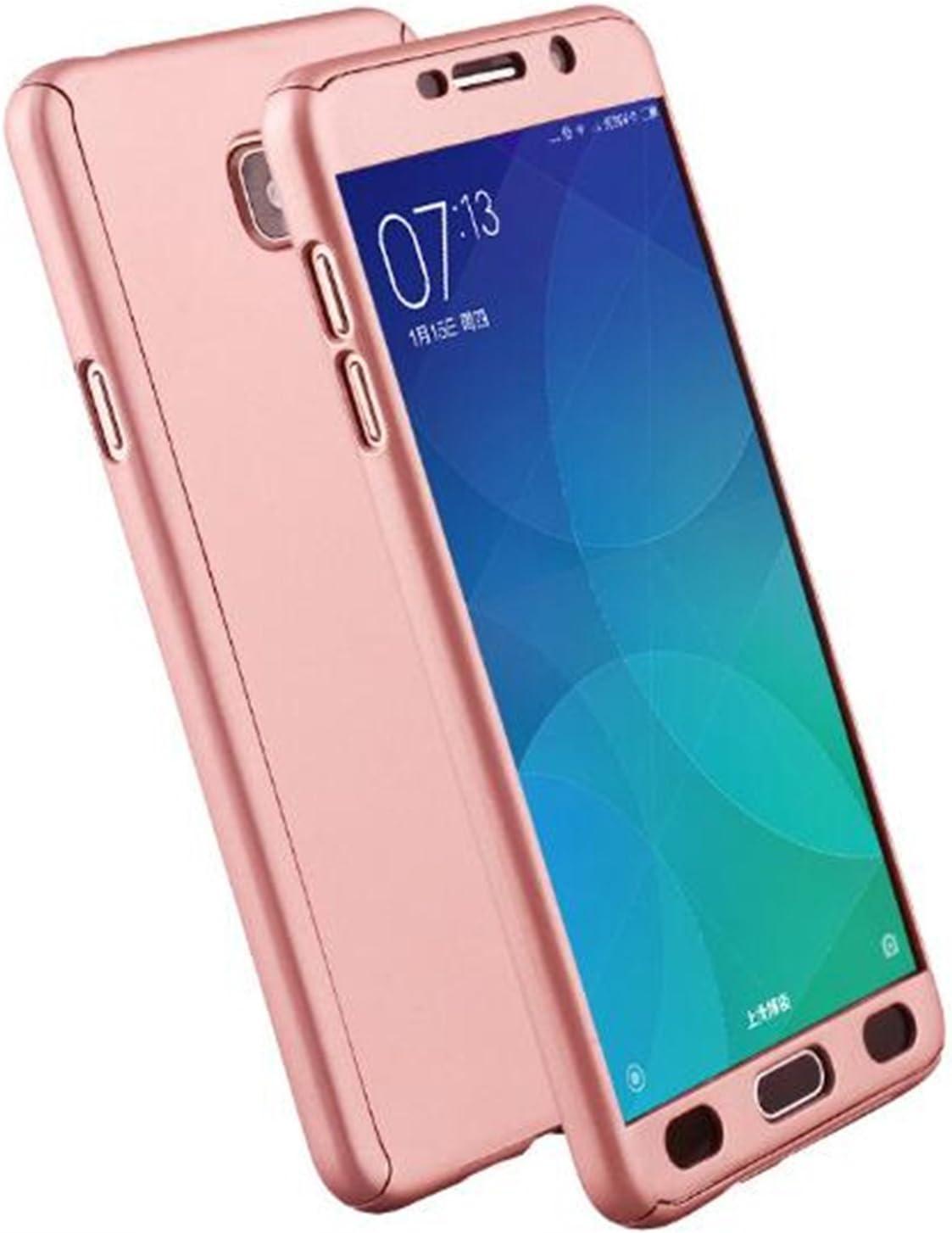 LXHGrowH Funda Samsung Galaxy A5 2017 [ 360 °] Protectora + Vidrio ...