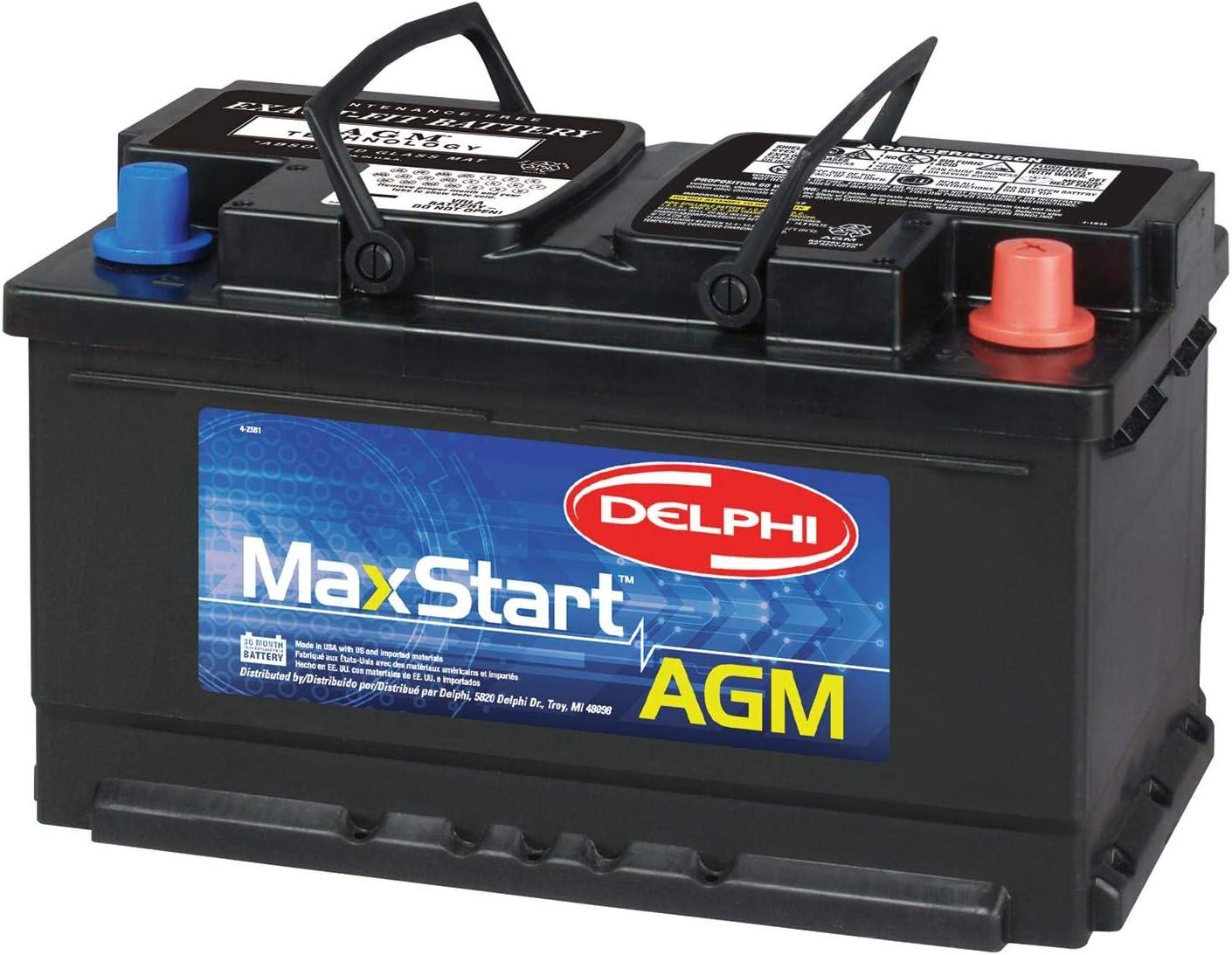 Delphi MaxStart AGM Premium Automotive Battery