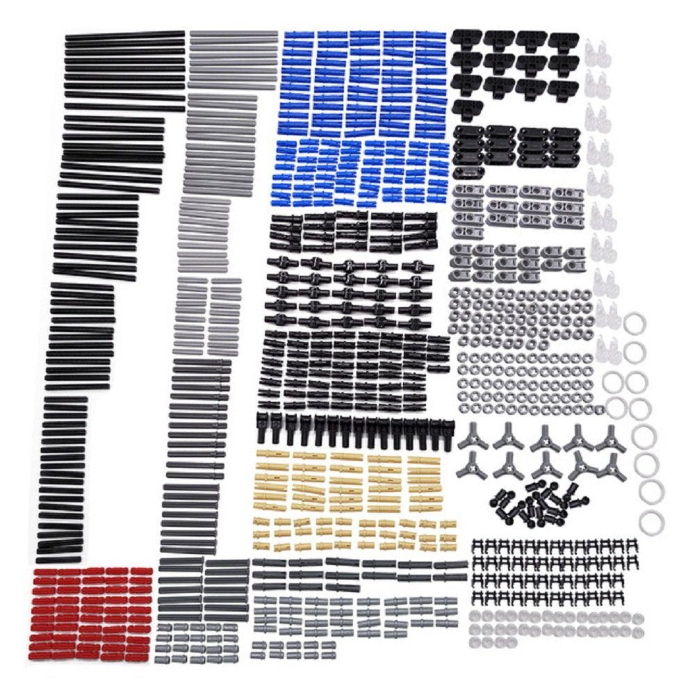 (882Pcs) - New Technic Series Parts - 882 Pieces Axle Chain Link Connectors Bricks Sets- Compatible With All Major Brands 882Pcs  B07B89N7Q8