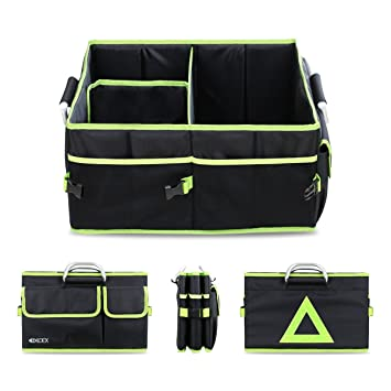 Ldex Car Boot Tidy Trunk Organizer Cooler Foldable Storage Tote Shopping Bag And