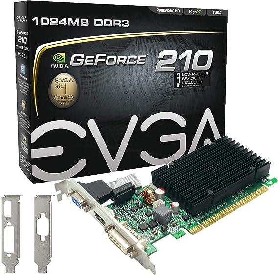 EVGA GeForce 210 Passive 1024 MB DDR3 PCI Express 2.0 DVI/HDMI/VGA Graphics Card