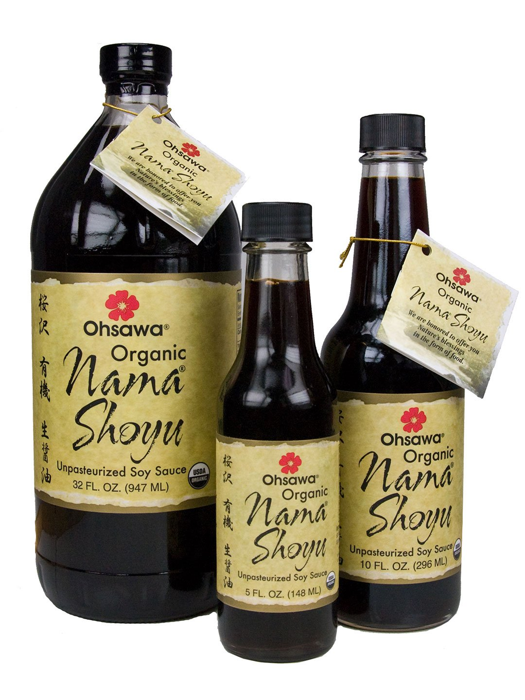 Ohsawa Nama Shoyu, Organic and Aged in 150 Year Cedar Kegs for Extra Flavor - Japanese Soy-Free Sauce, Low - Sodium, Non-GMO, Vegan, Kosher - 32 oz by OHSAWA® (Image #5)