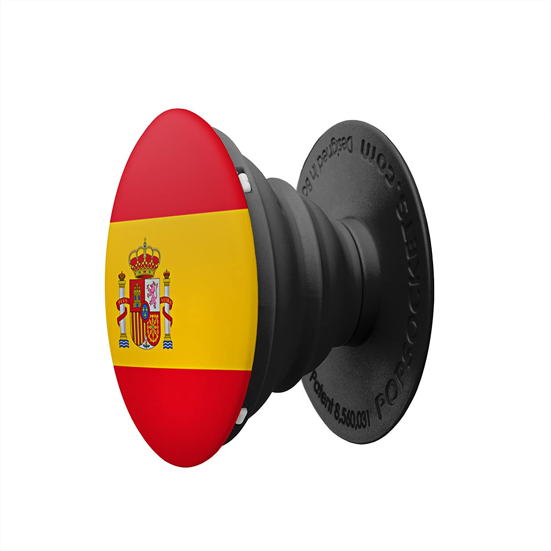 PopSockets PS Soporte telescópico para Smartphones y tabletas Estilo Spanish Flag