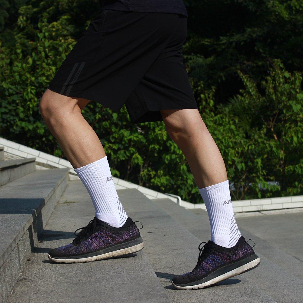 JINROZ Calcetines Deportivos para Hombres y Mujeres, Calcetines de Senderismo, sin Ampollas, Transpirables - para Trekking, Correr, Caminar, Gimnasio, ...