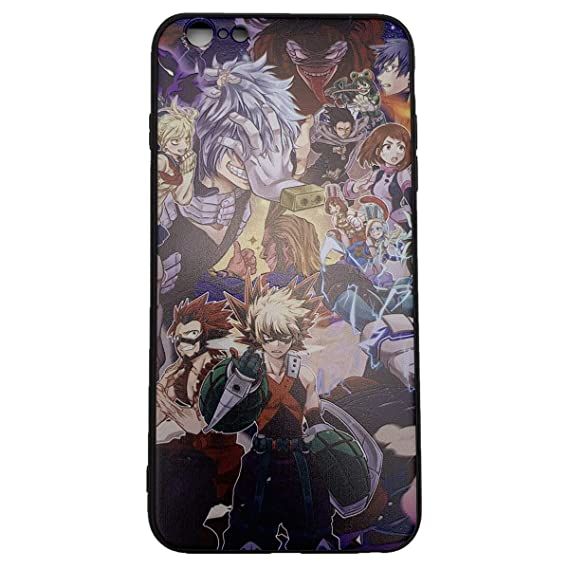 size 40 14a7e 1f9a5 Amazon.com: My Hero Academia Phone Case for iPhone 7 Plus iPhone 8 ...