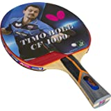 Butterfly Timo Boll Carbon Fiber Ping Pong Paddle   ITTF Approved Table Tennis Racket   Ping Pong Sponge and Rubber   Carbon