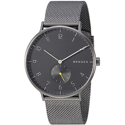 Skagen Reloj Analógico para Hombre de Cuarzo con Correa en Acero Inoxidable SKW6470: Amazon.es: Relojes