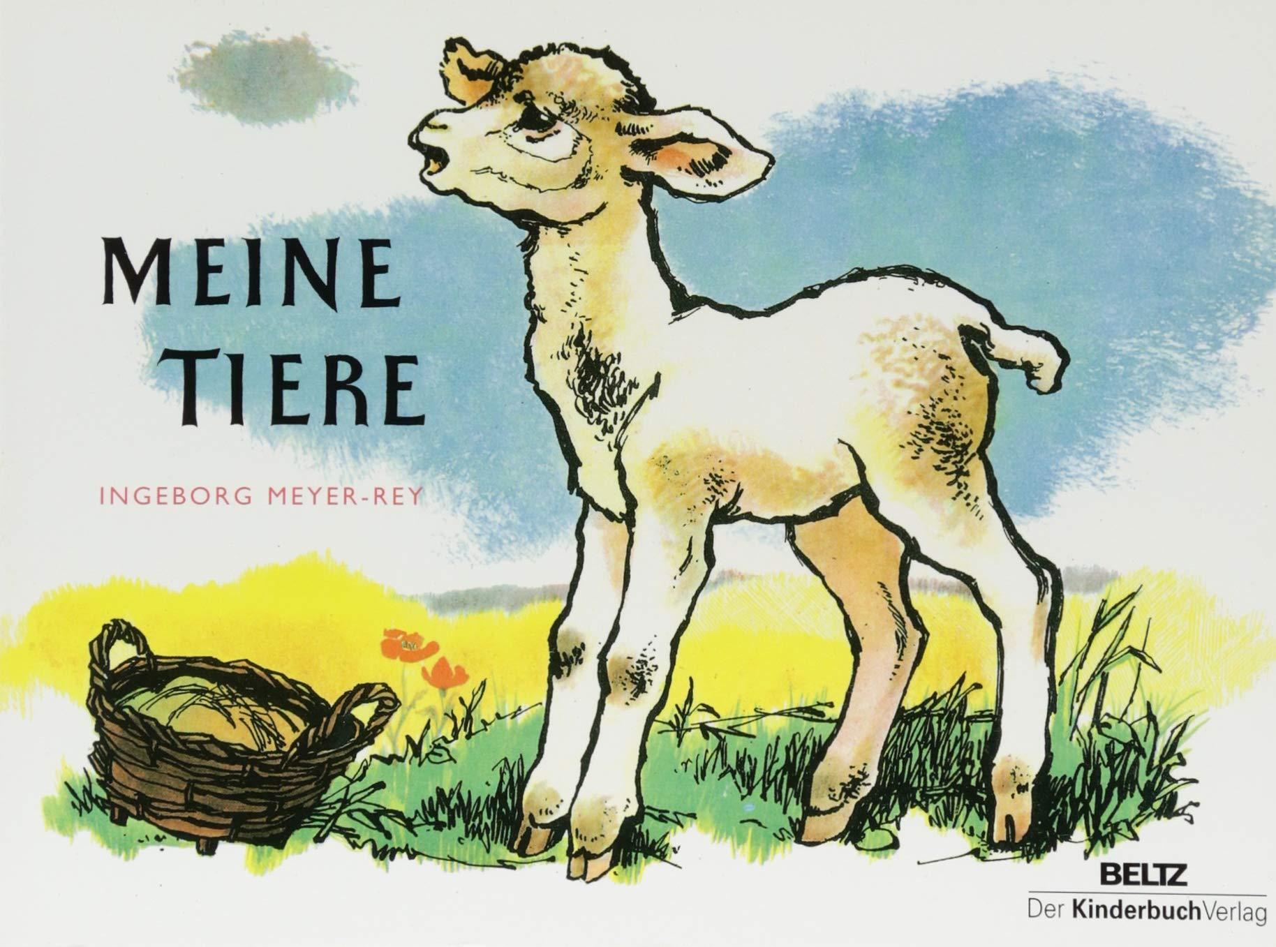 Meine Tiere: Vierfarbiges Pappbilderbuch