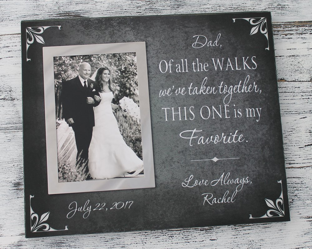 Amazon Personalized Wedding Gift Dad Of All The Walks Weve
