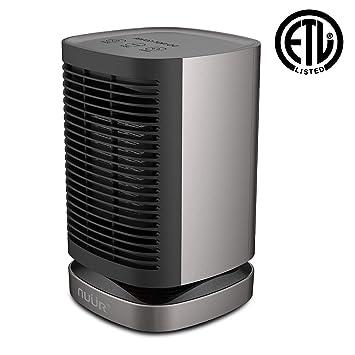 Portable Electric Heater Ceramic Space Fan Quiet 950w Warm Winter Snow Home, Furniture & DIY