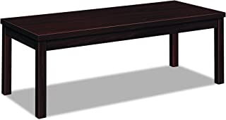 product image for HON 80191NN Laminate Occasional Table, Rectangular, 48w x 20d x 16h, Mahogany