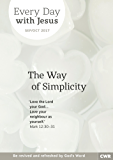 Every Day With Jesus September-October 2017: The Way of Simplicity
