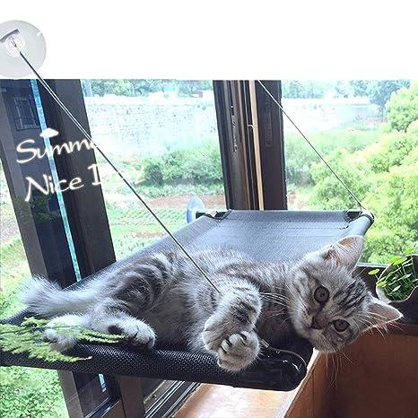 Pink day Gato Hamaca Ventosa Tipo De Artículos para Mascotas Colgar Cama Colgando Gato Litera Gato