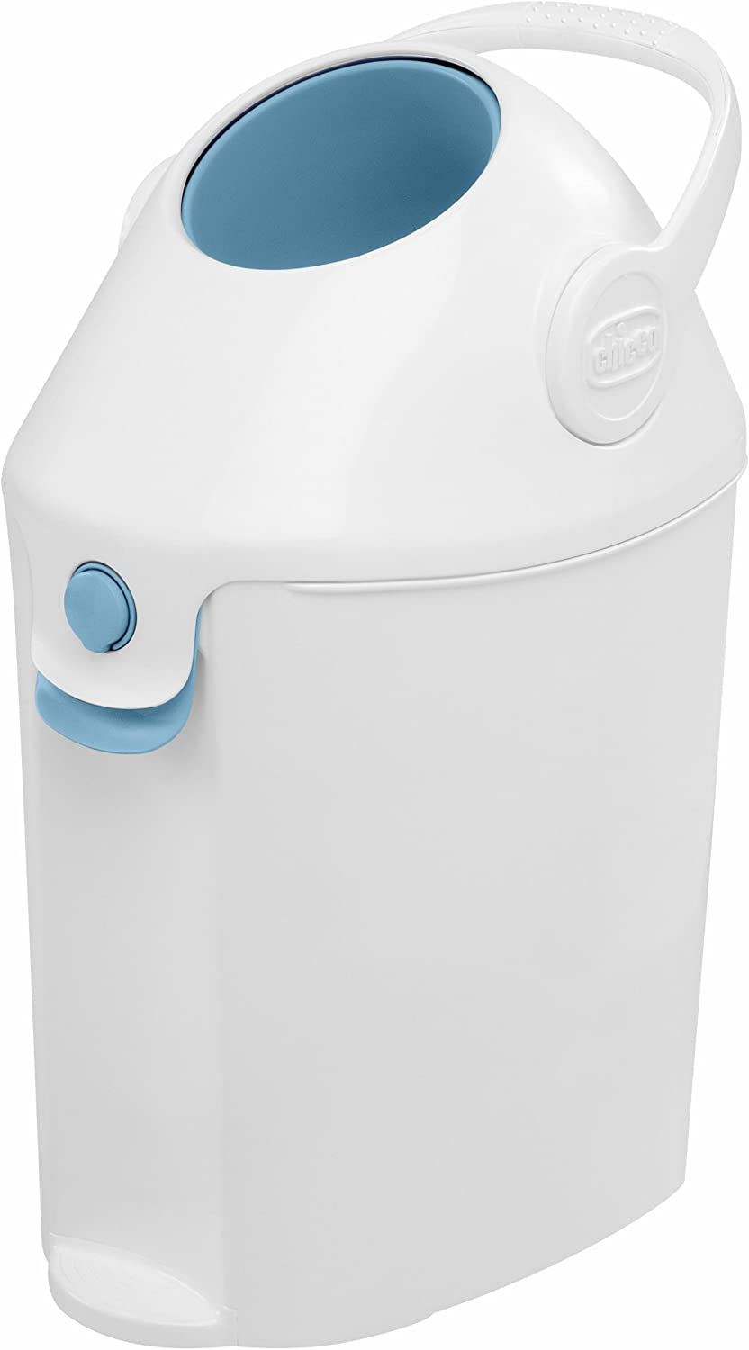 Chicco Nappy Bin Odour Proof System Use Conventional Bags