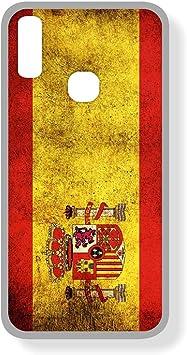 SUPER STICKER Samsung A40 - Funda Carcasa Gel Flexible, con Dibujo Original, Ref: Bandera Espana: Amazon.es: Electrónica