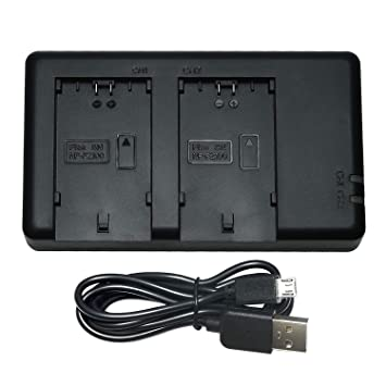 DSTE BC-QZ1 Batería USB Dual Quick Cargador Compatible para ...