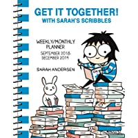Get It Together! with Sarah's Scribbles 2018-2019 Weekly/Monthly Planner