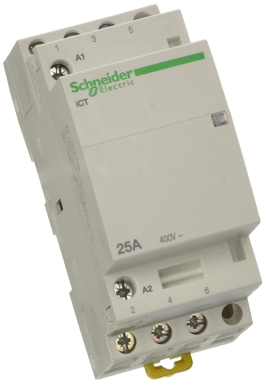 12 A LP1-K 1O Composition Contact Auxiliaire 24VDC Bobine 3P P/ôles 3-440VAC Schneider Electric LP1K1201BD Contacteur TeSys