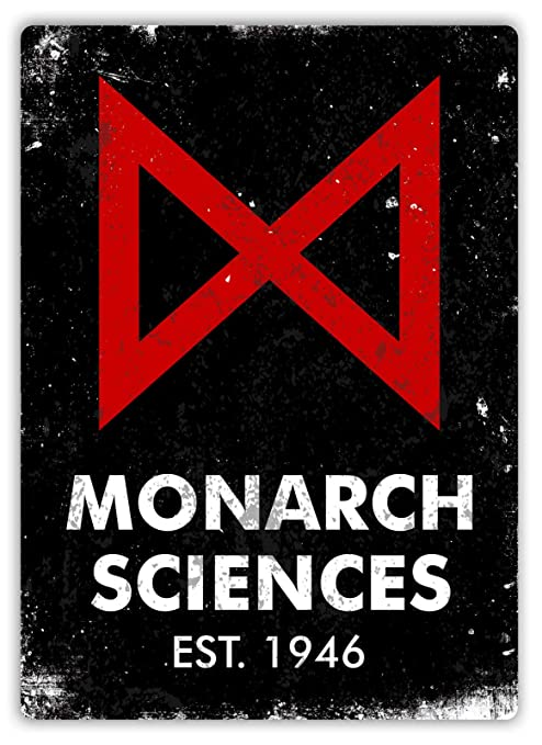 Monarch Sciences Póster de Pared Aluminio Metal Creativo ...