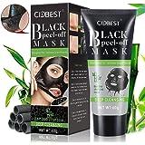 Blackhead Mask Peel Off, Peel Off Mask, rimuove punti, purificante maschera nera, carbone attivo profonda dei pori maschera, aspirazione Face nose Clear acne Blackhead Mask
