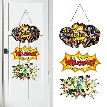 Amazon.com: My Hero Academia - Colgador de puerta para niños ...