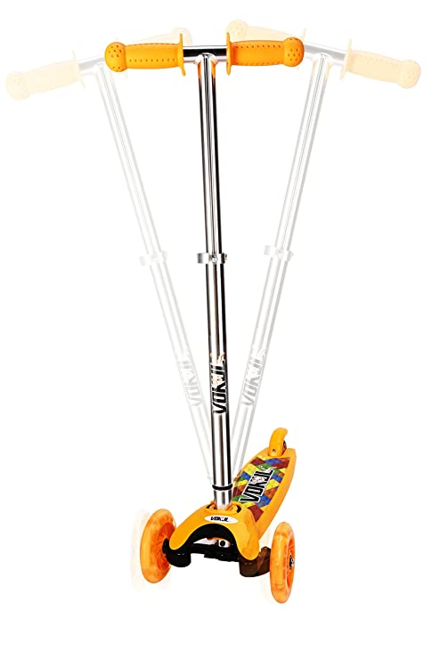 Amazon.com: Vokul® vk-1281 F Mini Kick – Patinete de 3 ...
