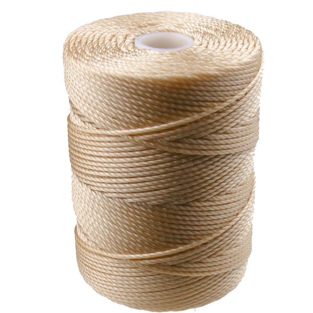 C-LON Bead Cord, Wheat - 0.5mm, 92 Yard Spool 4336807649
