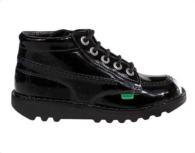 Kickers Kick Hi Patent Leather Junior