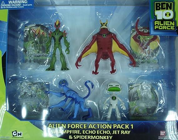 BEN10 95411 – Alien Force Action Pack 1: Amazon.es: Juguetes y juegos