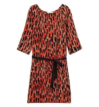 Promod Robe imprimée Femme  Amazon.fr  Vêtements et accessoires a6d1d7db72c