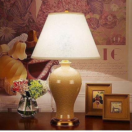 Hyun times lámpara de mesa de Cobre de cerámica 40 * 65 cm ...