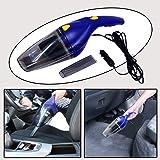 Oshotto 60W Heavy Duty Car Vacuum Cleaner 12V (Blue)