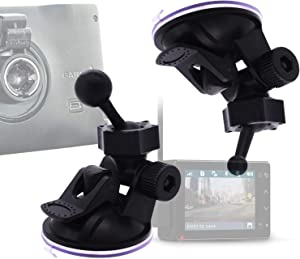 iSaddle for Garmin Dash Cam Holder - Suction Mount Holder for Garmin Speak Plus Dash Cam Mini 30 35 45 46 55 56 65W 66 66W Nuvi Drive Drivesmart Dezl Zumo Driveassist DriveLuxe StreetPilot RV GPS