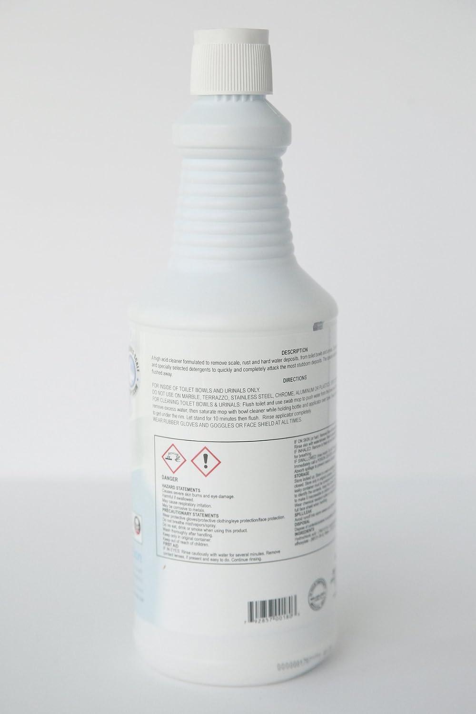 Amazon.com: Bella Bowl H.A. High Acid Toilet Bowl Cleaner, 1 Quart ...