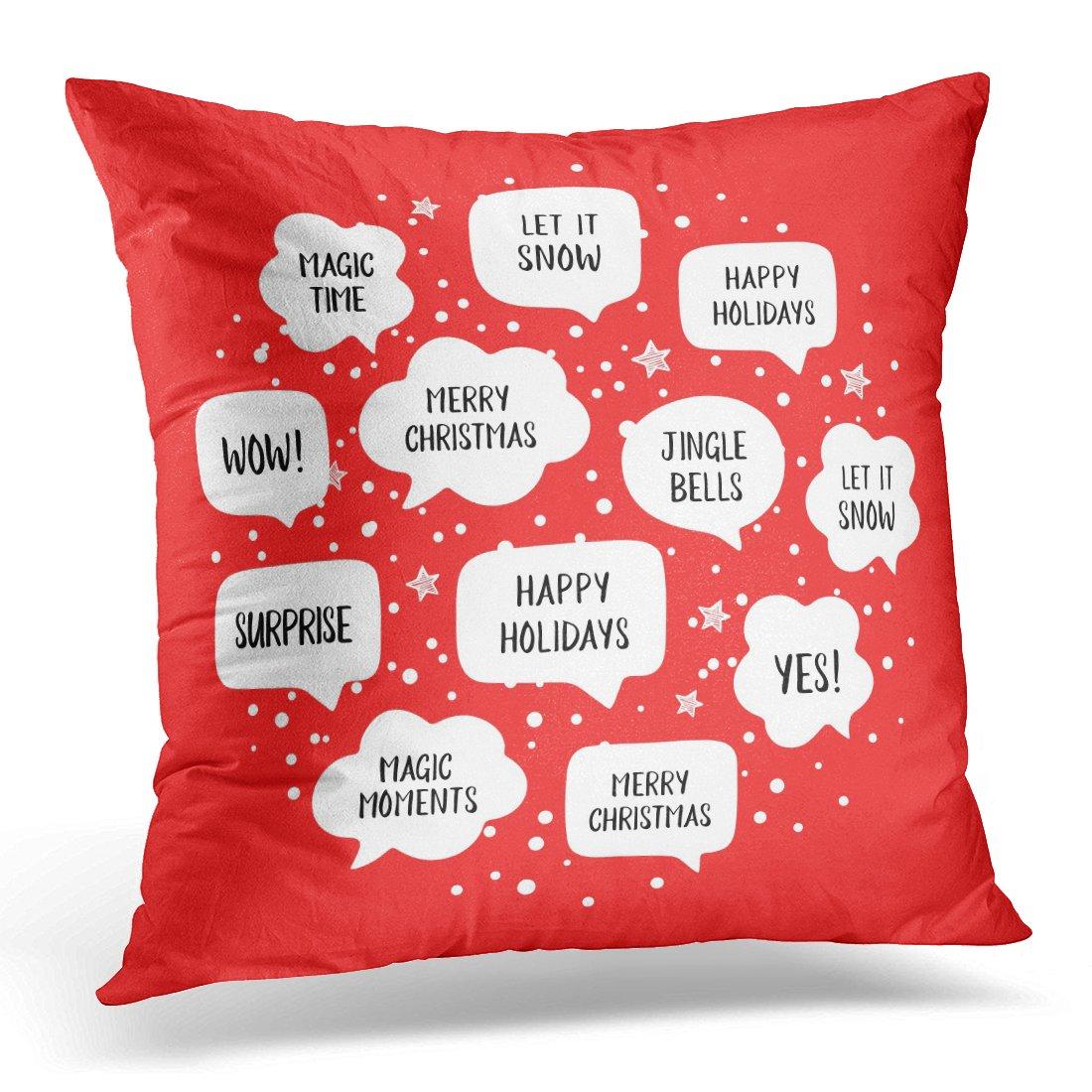 Amazon.com: Funda de almohada Sdamase con diseño de reno ...