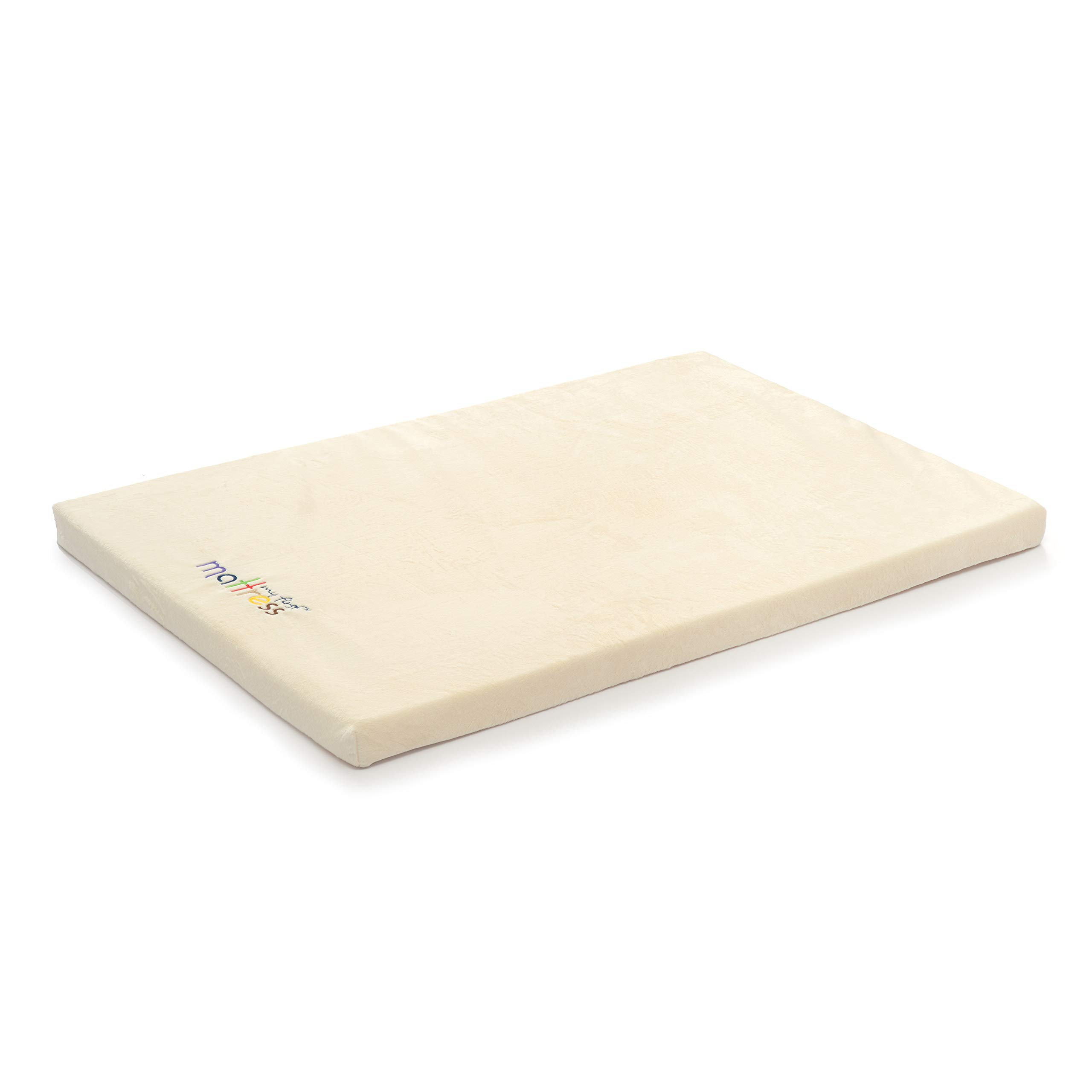My First Pack N Play Mattress Pad or Mini Crib Pad, 37'' x 26'' x 1-1/2'' by My First Mattress