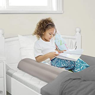 Maxchange Inflatable Bed Rails for Toddlers | Kids Portable Travel Bed Bumpers | Made with Flocking Fabirc | No Chemical Smell | Great for Travel Grandparents Visiting and Baby Crib Transition (2-Pack)