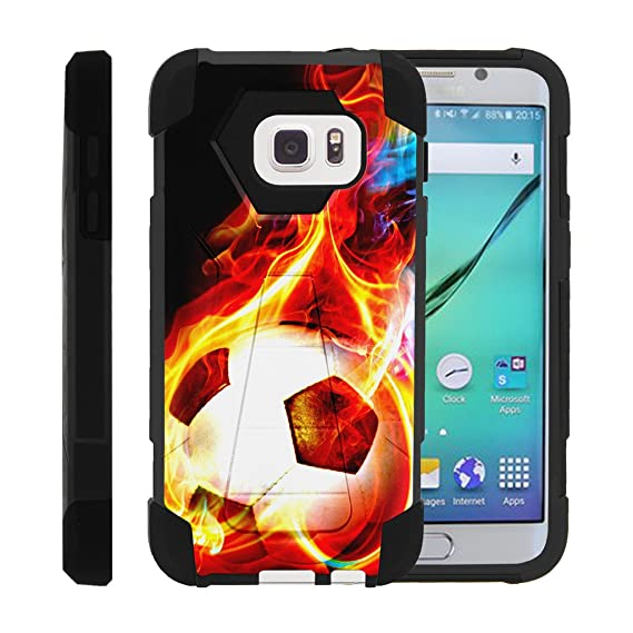 amazon com miniturtle case compatible w galaxy s7 dual layer