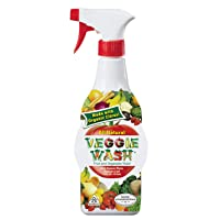 Deals on Veggie Wash Natural Fruit & Vegetable Wash 16oz Spray