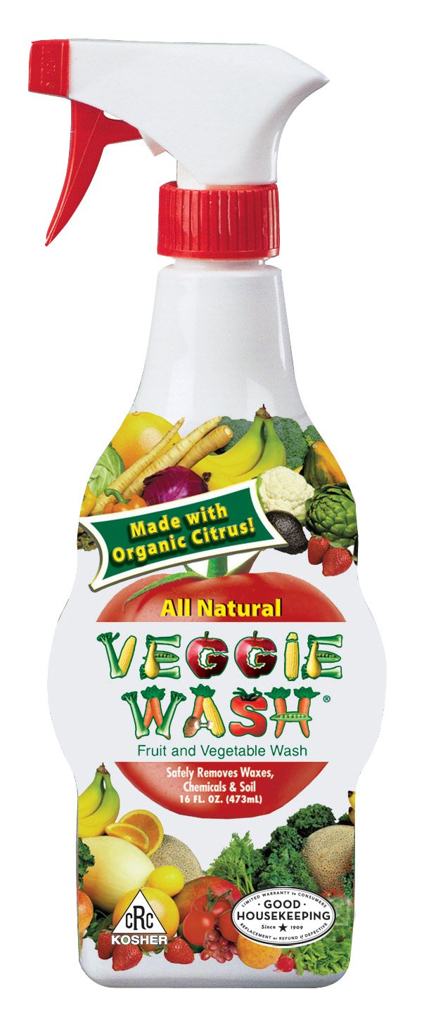 amazon com veggie wash all natural fruit and vegetable wash 1