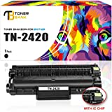 Chip-Toner Bank TN2420 TN-2420 TN-2410 TN2410 - Cartucho de tóner compatible con Brother HL-L2350DW MFC-L2710DW Tóner Brother DCP-L2510D DCP-L2530DW MFC L2750DW HL L2375DW L2310D L2370DN MFC-L2710DN MFC-L2730DW DCP-L2550DN