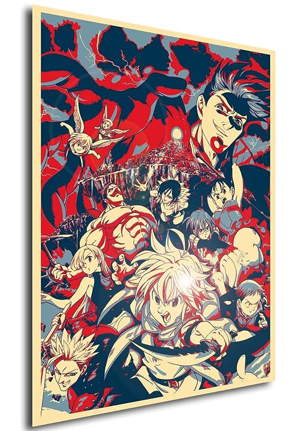 Poster - Propaganda Full - Seven Deadly Sins (Cartel 70x50 ...