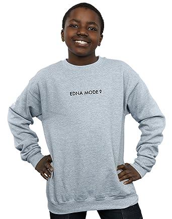0920a3d3d4da13 Disney Jungen The Incredibles 2 Edna Mode Sweatshirt: Amazon.de: Bekleidung