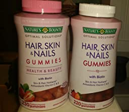 Amazon.com: Nature's Bounty Optimal Solutions Hair, Skin ...