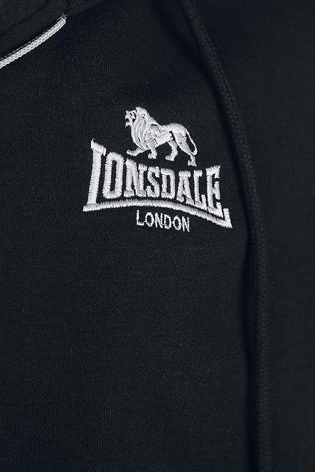 Lonsdale London Rottingdean Hombre ch/ándal Negro,