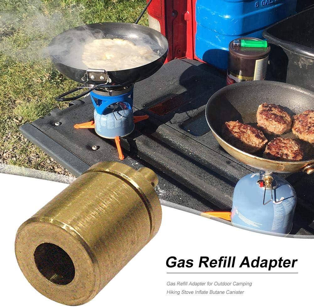 Tsukama Adaptador de Recarga Gas para la Estufa de Camping al ...