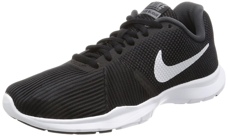 Nike Flex Bijoux, Scarpe Sportive Indoor Donna Nero (Black / White / Anthracite 001)