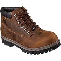 Skechers Men's Sergeants-Verdict Warm Lining Chelsea Boots
