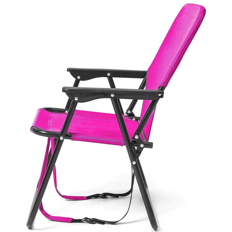 Wondrous Amazon Com Kaputar Pink Adjustable Outdoor Beach Sports Creativecarmelina Interior Chair Design Creativecarmelinacom